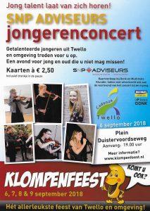 Jongerenconcert Klompenfeest @ Plein Duistervoordseweg